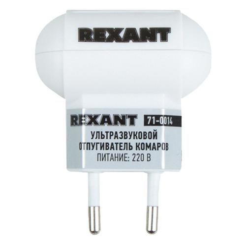 Фото - Отпугиватель Rexant 71-0014 ультразвуковой стационарный 5Вт 3-20кГц р.д.:30м белый средство защиты rexant s90 71 0038 ультразвуковой отпугиватель