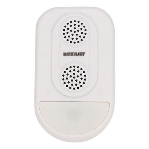 Отпугиватель Rexant 71-0038 ультразвуковой стационарный 7Вт 30-55 кГц р.д.:90м белый ультразвуковой отпугиватель rexant 71 0037 20 кв м