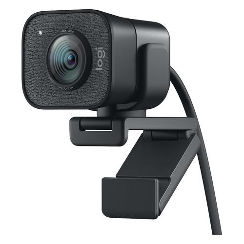 Фото - Web-камера Logitech StreamCam GRAPHITE, черный/серый [960-001281] web камера logitech brio черный оранжевый [960 001106]