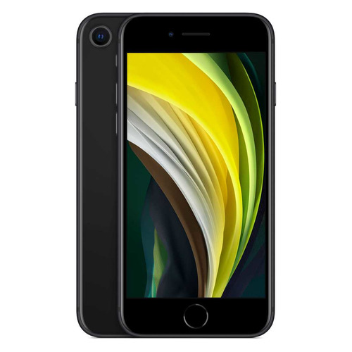 Смартфон APPLE iPhone SE 2020 128Gb, MXD02RU/A, черный