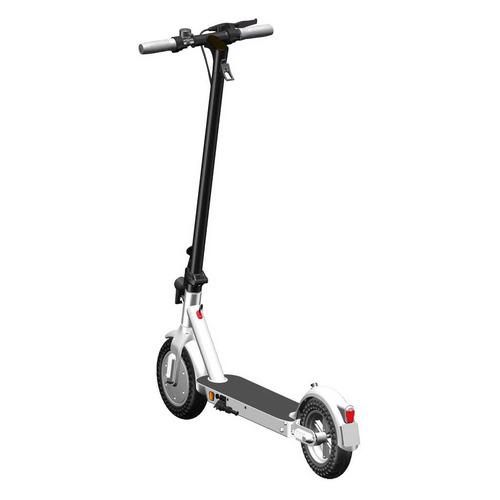 Электросамокат ICONBIT KickScooter City Pro, 7500mAh, белый [ik-2010w]