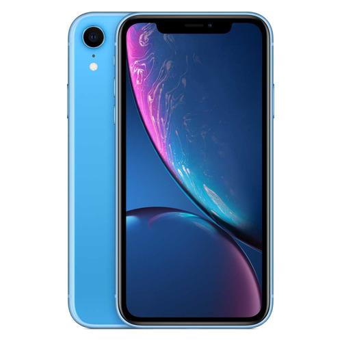 Смартфон CLEVERCEL APPLE iPhone XR 128Gb (подержанный c гарантией), голубой
