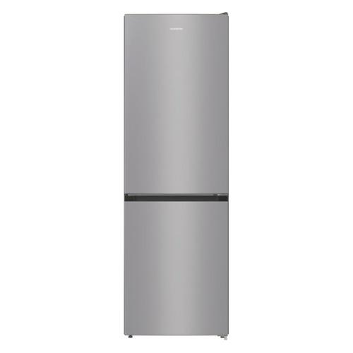 Холодильник GORENJE NRK6191ES4, двухкамерный, серебристый холодильник gorenje rk621syb4 черный двухкамерный