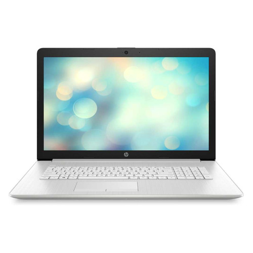 "фото Ноутбук hp 17-by3025ur, 17.3"", intel core i5 1035g1 1.0ггц, 8гб, 256гб ssd, nvidia geforce mx330 - 2048 мб, free dos, 13d75ea, серебристый"