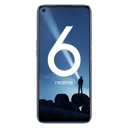 Смартфон REALME 6 4/128Gb, RMX2001, синий