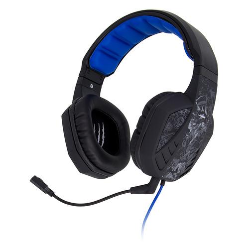 Фото - Гарнитура игровая HAMA uRage SoundZ 310, для ПК и игровых консолей, накладные, черный / серый [00186023] наушники с микрофоном hama urage soundz 310 черный серый 2 5м накладные usb оголовье 00186023