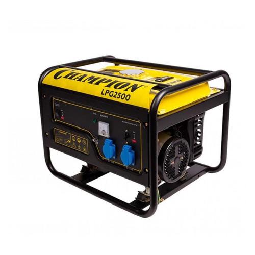 Бензиново-газовый генератор CHAMPION LPG2500, 220, 2.3кВт
