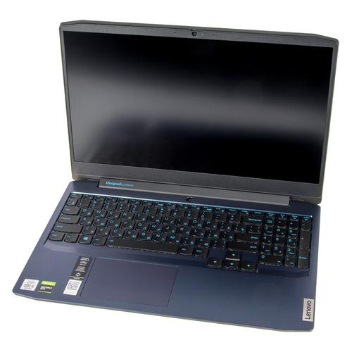 Фото - Ноутбук LENOVO IP Gaming 3 15IMH05, 15.6, IPS, Intel Core i5 10300H 2.5ГГц, 8ГБ, 512ГБ SSD, NVIDIA GeForce GTX 1650 Ti - 4096 Мб, Free DOS, 81Y40099RK, синий ноутбук lenovo legion 5 17imh05 17 3 ips intel core i5 10300h 2 5ггц 16гб 512гб ssd nvidia geforce gtx 1650 ti 4096 мб windows 10 82b3002bru черный