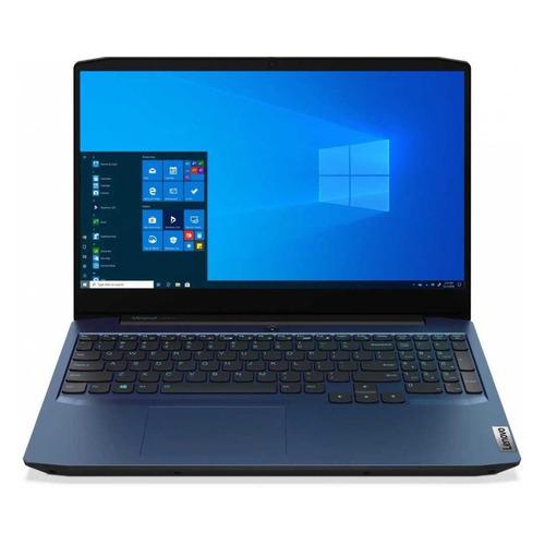 Фото - Ноутбук LENOVO IP Gaming 3 15IMH05, 15.6, IPS, Intel Core i7 10750H 2.6ГГц, 16ГБ, 512ГБ SSD, NVIDIA GeForce GTX 1650 Ti - 4096 Мб, Windows 10, 81Y4006XRU, синий ноутбук lenovo legion 5 17imh05 17 3 ips intel core i5 10300h 2 5ггц 16гб 512гб ssd nvidia geforce gtx 1650 ti 4096 мб windows 10 82b3002bru черный