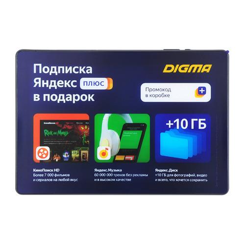 Планшет Digma Optima 10 X702 4G, 3ГБ, 32GB, 3G, 4G, Android 10.0 черный [ts1228pl] планшет digma optima 8 z801 4g 4gb 64gb 3g 4g android 10 0 серебристый [ts8227pl]