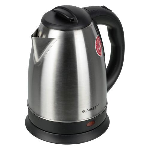 Фото - Чайник электрический SCARLETT SC-EK21S29, 1800Вт, нержавеющая сталь чайник электрический scarlett sc ek21s76 2л 1800вт красный