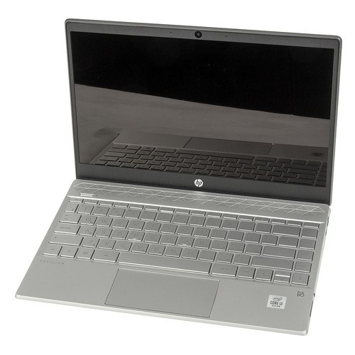 Ноутбук HP Pavilion 13-an1030ur, 13.3, IPS, Intel Core i3 1005G1 1.2ГГц, 4ГБ, 128ГБ SSD, Intel UHD Graphics , Windows 10, 1A5N6EA, серебристый ноутбук hp 14s dq0031ur 14 ips intel pentium gold 4417u 2 3ггц 4гб 128гб ssd intel hd graphics 610 windows 10 9rk34ea белый