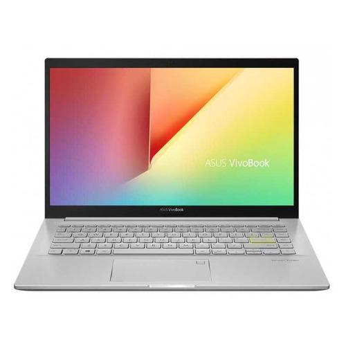 Ноутбук ASUS VivoBook K413FA-EB527T, 14, IPS, Intel Core i3 10110U 2.1ГГц, 8ГБ, 256ГБ SSD, Intel UHD Graphics , Windows 10, 90NB0Q0B-M07900, серебристый ноутбук asus vivobook a412fa eb1167t 14 ips intel core i3 8145u 2 1ггц 8гб 256гб ssd intel uhd graphics 620 windows 10 90nb0l92 m17470 серый