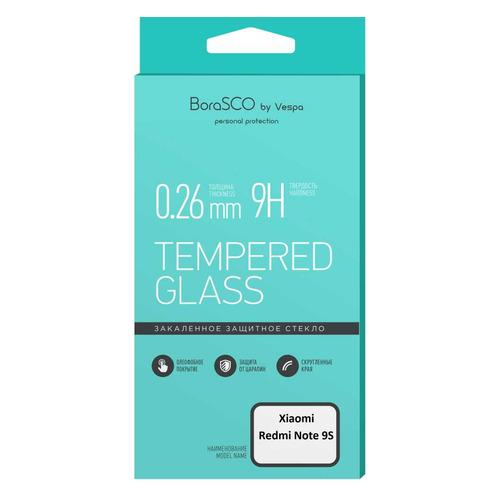 Фото - Защитное стекло для экрана BORASCO для Xiaomi Redmi Note 9S/9 Pro, антиблик, 1 шт, прозрачный [38773] защитная пленка для экрана borasco для xiaomi mi note 10 антиблик 3d 1 шт [38279]
