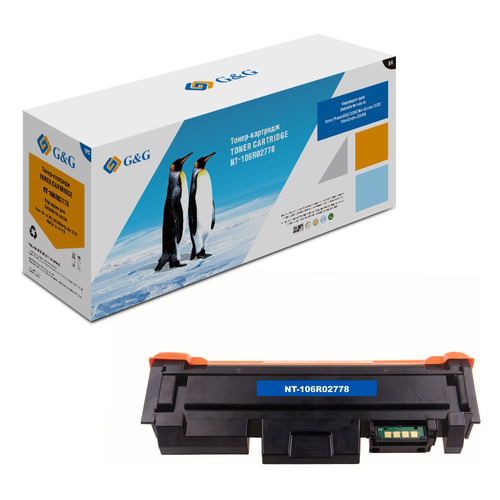 Картридж G&G NT-106R02778, черный картридж nv print 106r02778 для xerox phaser 3052 3260 wc 3215 3225 черный 3000стр