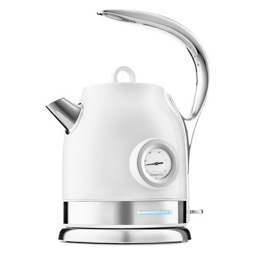 Фото - Чайник электрический KITFORT КТ-694-1, 2200Вт, белый чайник электрический kitfort кт 667 1 1150вт белый