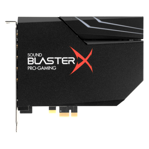 Звуковая карта PCI-E CREATIVE BlasterX AE-5 Plus, 5.1, Ret [70sb174000003]