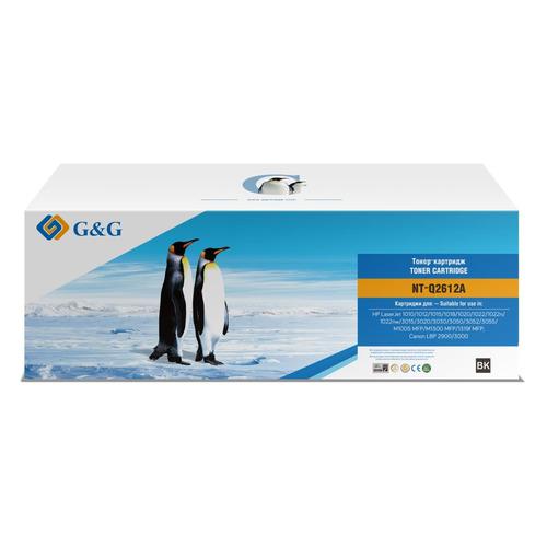 Картридж G&G NT-Q2612A, черный / NT-Q2612A