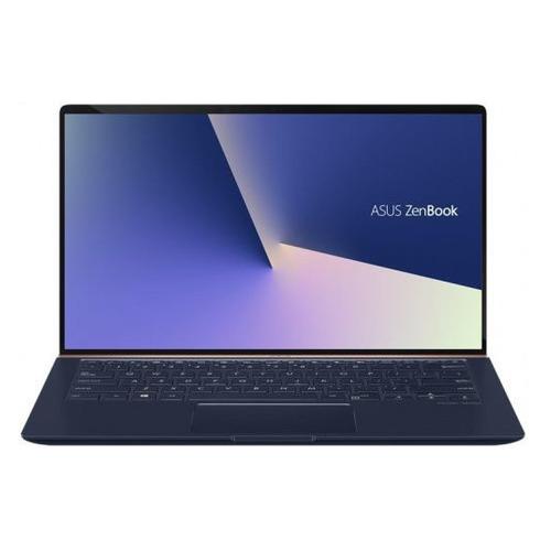 Ноутбук ASUS Zenbook UX433FLC-A5230T, 14, IPS, Intel Core i5 10210U 1.6ГГц, 8Гб, 512Гб SSD, nVidia GeForce MX250 - 2048 Мб, Windows 10 Home, 90NB0MP5-M07340, синий ноутбук asus gl752vw t4474t 17 3 1920x1080 intel core i5 6300hq 1 tb 8gb nvidia geforce gtx 960m 2048 мб серый windows 10 90nb0a42 m06610
