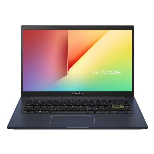 Ноутбук ASUS VivoBook X413FF-EB011T, 14, IPS, Intel Core i5 10210U 1.6ГГц, 8Гб, 512Гб SSD, nVidia GeForce Mx130 - 2048 Мб, Windows 10 Home, 90NB0RB7-M00170, черный ноутбук asus gl752vw t4474t 17 3 1920x1080 intel core i5 6300hq 1 tb 8gb nvidia geforce gtx 960m 2048 мб серый windows 10 90nb0a42 m06610