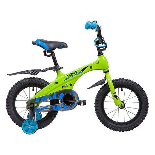 цена на Велосипед Novatrack Blast (2019) городской кол.:14 зеленый (145MBLAST.GN9)