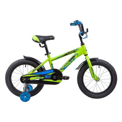 Велосипед Novatrack Lumen (2019) городской кол.:16 зеленый 10кг (165ALUMEN.GN9)