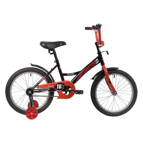 цена на Велосипед Novatrack Strike (2020) городской кол.:18 черный/красный 11.7кг (183STRIKE.BKR20)