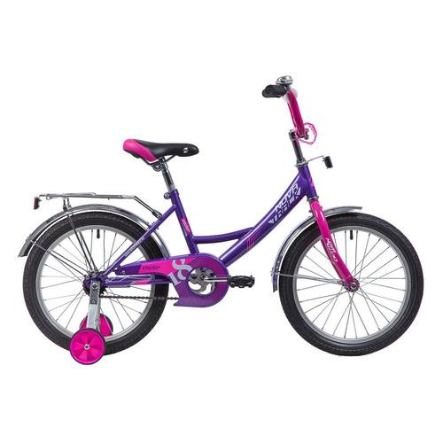 цена на Велосипед Novatrack Vector (2019) городской кол.:18 лиловый 11кг (183VECTOR.LC9)
