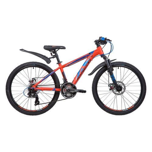 Велосипед Novatrack Extreme (2019) горный рам.:13 кол.:24 оранжевый 14.8кг (24AHD.EXTREME.13OR9) novatrack extreme 24 черный