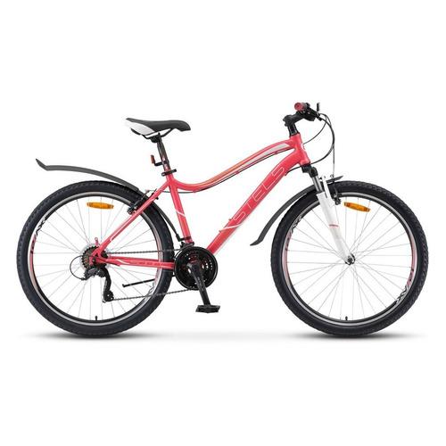 цена на Велосипед Stels Miss-5000 V (2018) горный рам.:17 кол.:26 розовый 17.16кг (LU074805)
