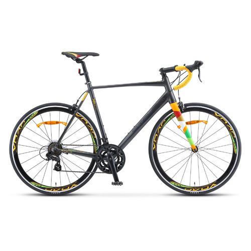 Велосипед Stels XT280 (2020) спортивный рам.:23 кол.:28 серый/желтый 12.28кг (LU082606) велосипед stels xt280 28 v010 2020 23 серый желтый