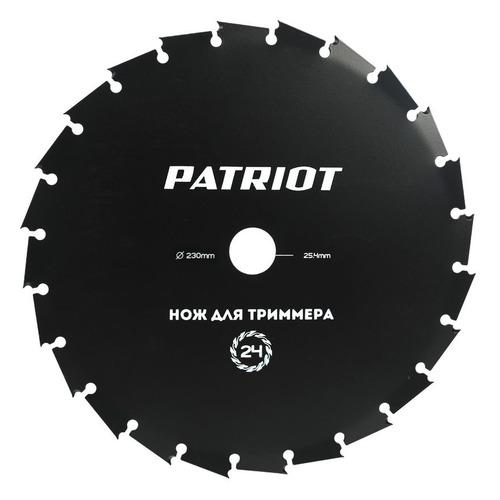 Сменный нож для садовых триммеров PATRIOT TBS-24, 255мм [809115217] нож для триммера patriot tbs 40n