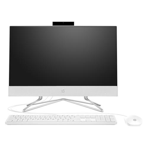 "Моноблок HP 22-df0014ur, 21.5"", Intel Pentium Silver J5040, 4ГБ, 128ГБ SSD, Intel UHD Graphics 605, Free DOS 3.0, белый [14p53ea]"