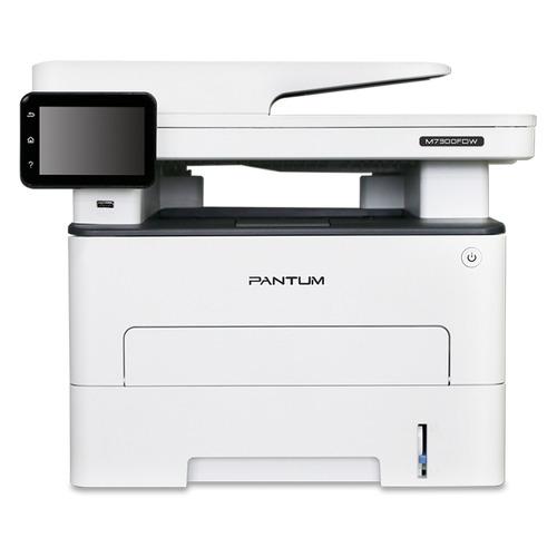 Фото - МФУ лазерный PANTUM M7300FDW, A4, лазерный, белый мфу лазерный pantum m6700d a4 лазерный серый