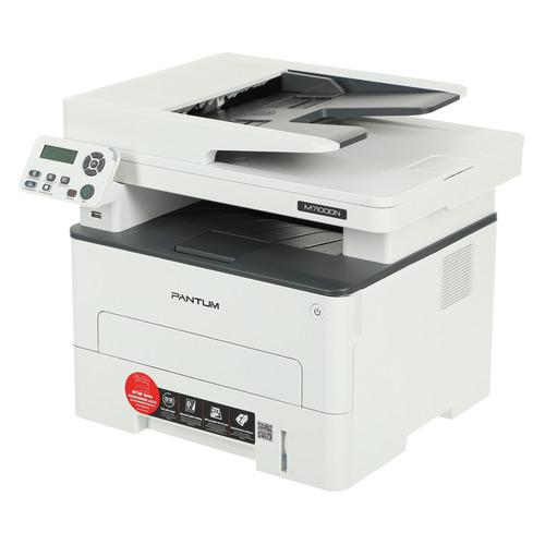 Фото - МФУ лазерный PANTUM M7100DN, A4, лазерный, белый мфу pantum m7100dn белый