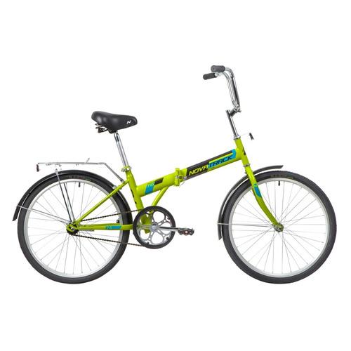 цена на Велосипед Novatrack TG (2020) городской складной рам.:14.5 кол.:24 зеленый 15.7кг (24NFTG1.GN20)