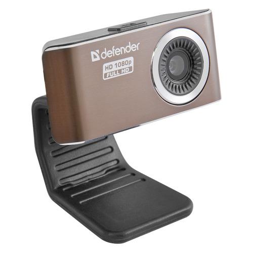 Фото - Web-камера DEFENDER G-lens 2693, коричневый и черный [63693] 3mp 2 8 12mm cctv lens for cctv camera fixed iris hd cctv camera lens varifocal lens manual zoom