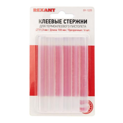 Клеевые стержни REXANT 09-1225, код 4601004145474