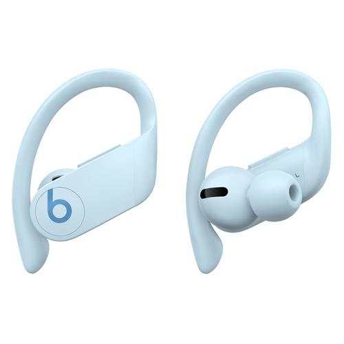 Наушники с микрофоном BEATS Powerbeats Pro, Bluetooth, вкладыши, снежно-голубой [mxy82ee/a] наушники с микрофоном beats powerbeats 3 bluetooth вкладыши черный [ml8v2ee a]