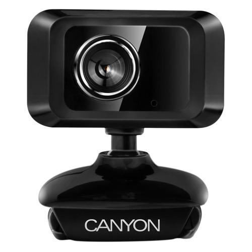 Фото - Web-камера CANYON CNE-CWC1, черный автомобильное зарядное устройство canyon cne cca01b