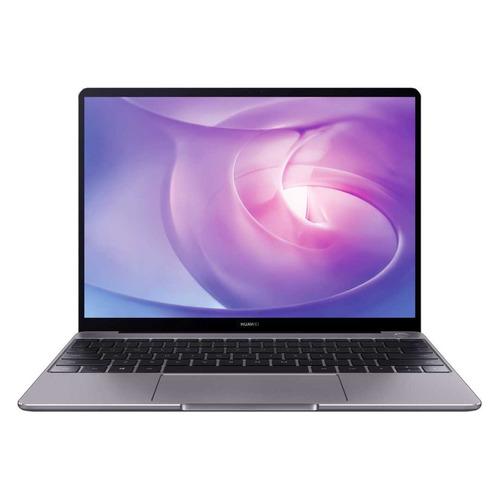 Ультрабук HUAWEI MateBook 13 HN-W19R, 13, IPS, AMD Ryzen 5 3500U 2.1ГГц, 16ГБ, 512ГБ SSD, AMD Radeon Vega 8, Windows 10, 53011AAX, серый ноутбук huawei matebook d 14 nbl waq9r 14 ips amd ryzen 5 3500u 2 1ггц 8гб 512гб ssd amd radeon vega 8 windows 10 53010ttb серый