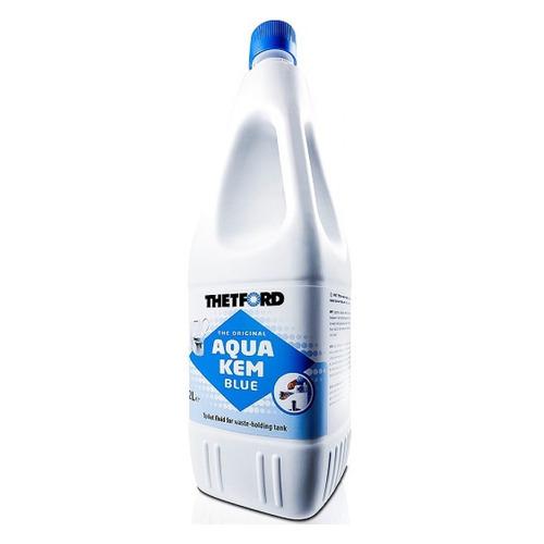 Фото - Жидкость для биотуалетов Thetford Aqua Kem Blue для дезодорирования 2л (30112BG) расщепитель для нижнего бака thetford aqua kem blue weekender