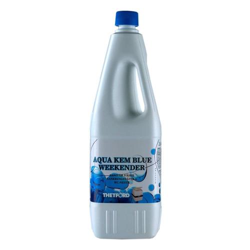 Фото - Жидкость для биотуалетов Thetford Kem Blue Weekender биоактиватор 2л (30282CB) расщепитель для нижнего бака thetford aqua kem blue weekender