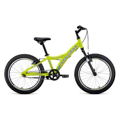 Велосипед Forward Comanche 1.0 (2020) горный кол.:20 желтый/белый 10.4кг (RBKW01601004) comanche heart