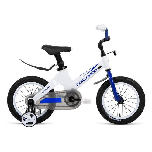 Фото - Велосипед Forward Cosmo (2020) городской кол.:14 белый 8.5кг (RBKW0LMF1008) городской велосипед elops 520