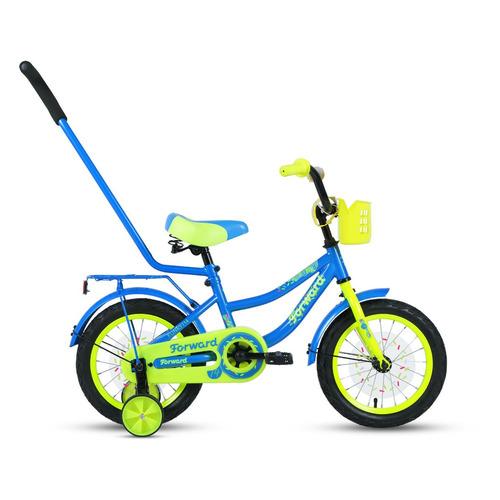 Фото - Велосипед Forward Funky (2020) городской кол.:14 голубой/зеленый 10.8кг (RBKW0LNF1018) городской велосипед elops 520