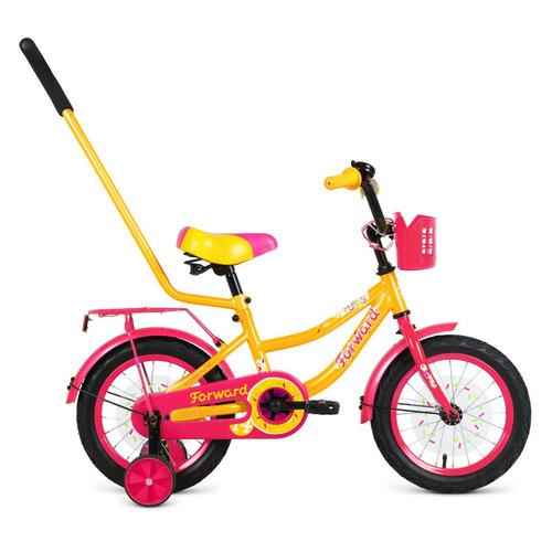 Фото - Велосипед Forward Funky (2020) городской кол.:14 желтый/фиолетовый 10.8кг (RBKW0LNF1022) городской велосипед elops 520