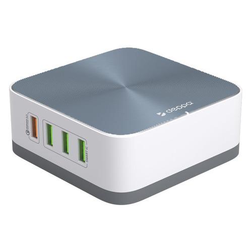 Настольное зарядное устройство DEPPA Ultra, 8xUSB, 3.6A, белый зарядное