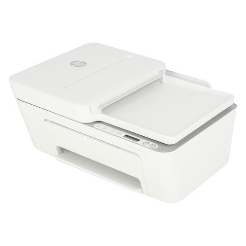 Фото - МФУ струйный HP DeskJet Plus 4120, A4, цветной, струйный, белый [3xv14b] мфу струйный hp officejet pro 7720 a3 цветной струйный белый [y0s18a]