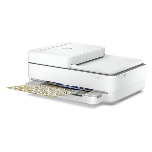 Фото - МФУ струйный HP DeskJet Ink Advantage 6475, A4, цветной, струйный, белый [5sd78c] мфу струйный hp smart tank 515 aio a4 цветной струйный черный [1tj09a]